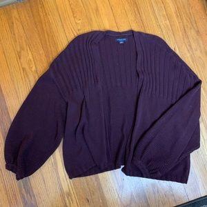 American Eagle Purple oversized sweater Sz Md NWOT